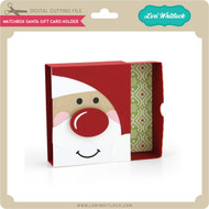 Matchbox Santa Gift Card Holder