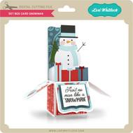 5x7 Box Card Snowman