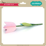 3D Flower Tulip