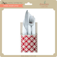 Utensil Holder Lattice