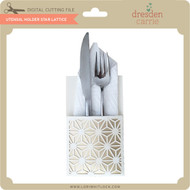 Utensil Holder Star Lattice