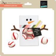 Snowman Slider Box