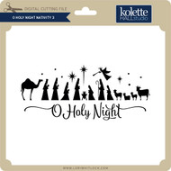 Oh Holy Night Nativity 3