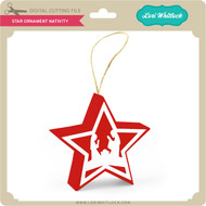 Star Ornament Nativity