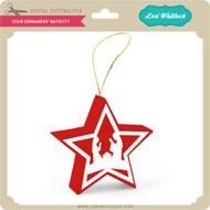 Star Ornament Nativity