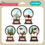 Snowglobe Box Card Bundle
