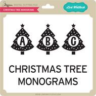 Christmas Tree Monograms