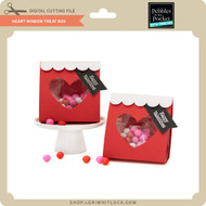 Heart Window Treat Box