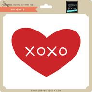 XOXO Heart 2