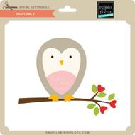Heart Owl 3