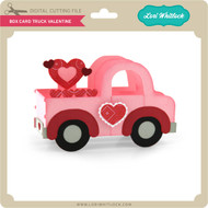 Box Card Truck Valentine