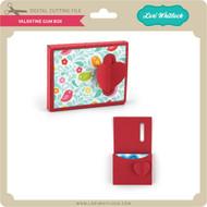 Valentine Gum Box