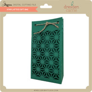 Star Lattice Gift Bag
