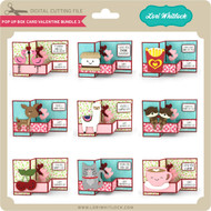Pop Up Box Card Valentine Bundle 3