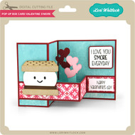 Pop Up Box Card Valentine S'More