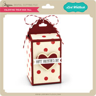 Valentine Treat Box Tall