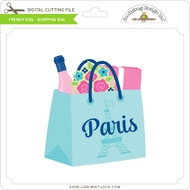 French Kiss - Shopping Bag