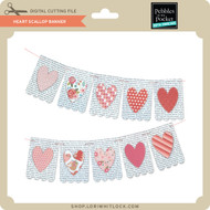 Heart Scallop Banner