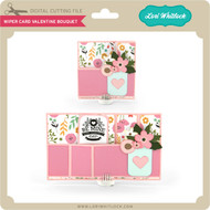 Wiper Card Valentine Bouquet