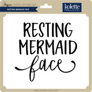 Resting Mermaid Face 2