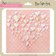 Cut and Fold Hearts Heart