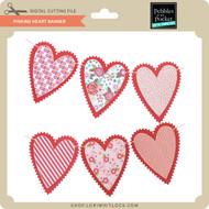 Pinking Heart Banner