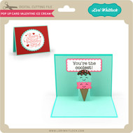 Pop Up Card Valentine Ice Cream