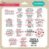 Love Phrase Bundle