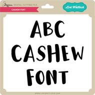 Cashew Font