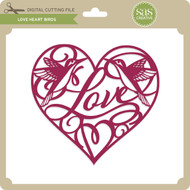 Love Heart Birds