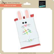Bunny Kit Kat Wrap