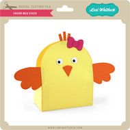 Favor Box Chick