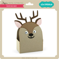 Favor Box Deer