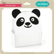 Favor Box Panda