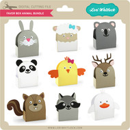Favor Box Animal Bundle