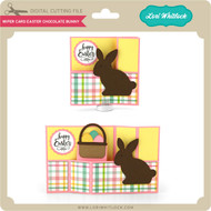 Wiper Card Easter Chocolate Bunny