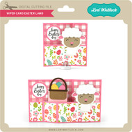 Wiper Card Easter Lamb
