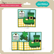 Wiper Card St Patrick's Boot
