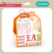 Favor Box Tag