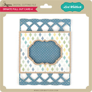 Ornate Pull Out Card 4