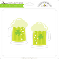 Lots O' Luck - Beer Glasses Shamrock