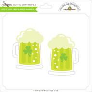 Lots O' Luck - Beer Glasses Shamrock