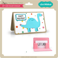 Gift Card Holder Dinosaur