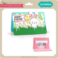 Gift Card Holder Easter Bunny
