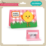 Gift Card Holder Easter Chick