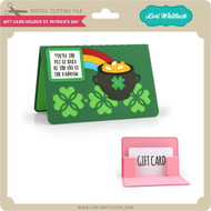 Gift Card Holder St Patrick's Day