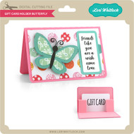 Gift Card Holder Butterfly 2