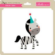 Wish Big - Zebra