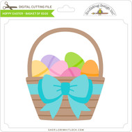 Hoppy Easter - Basket of Eggs