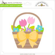 Hoppy Easter - Basket of Flowers